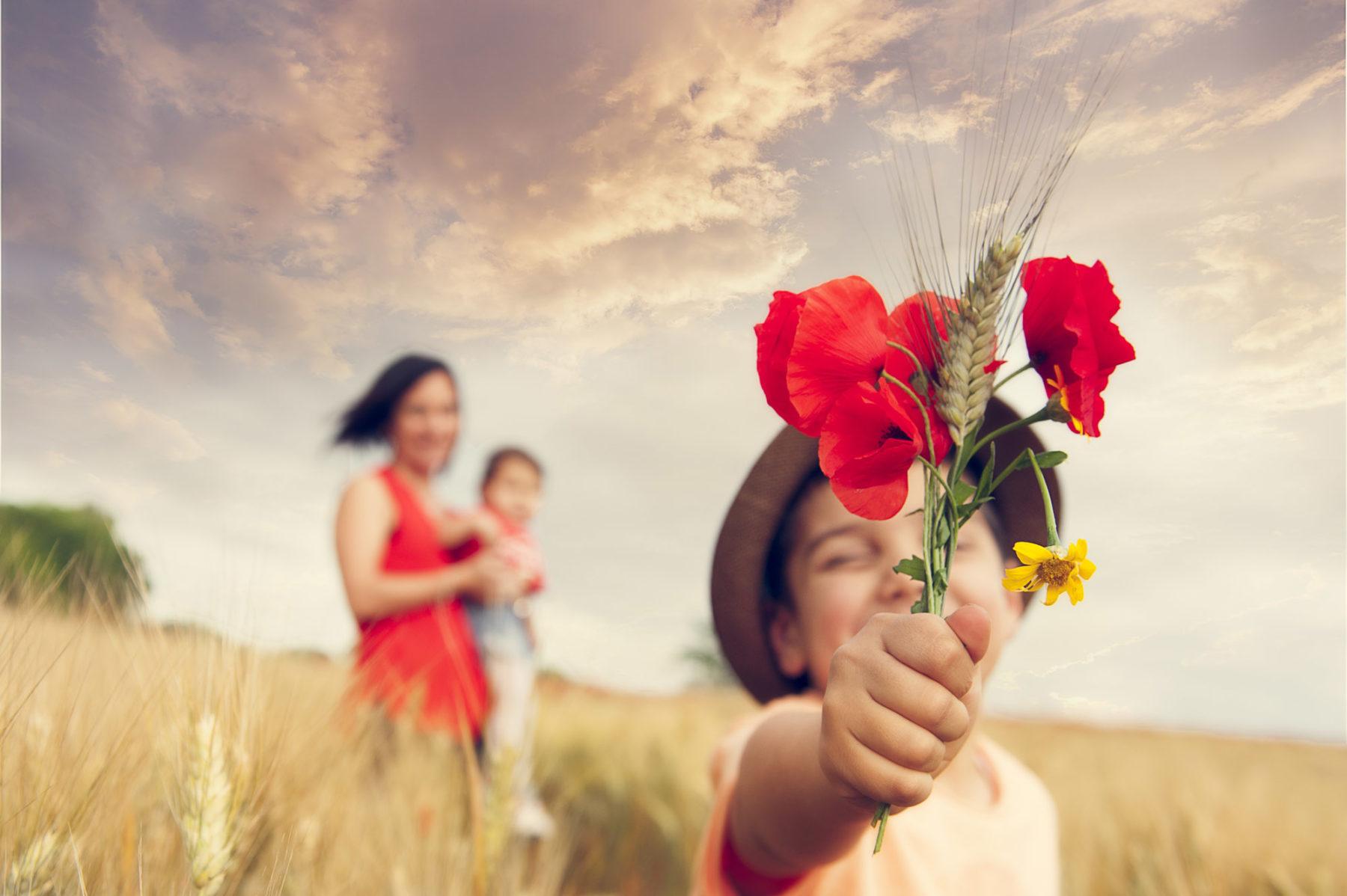 Foto di famiglia servizio fotografico bambini roma