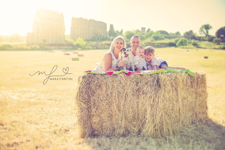 ritratti di famiglia  servizio fotografico bambini roma