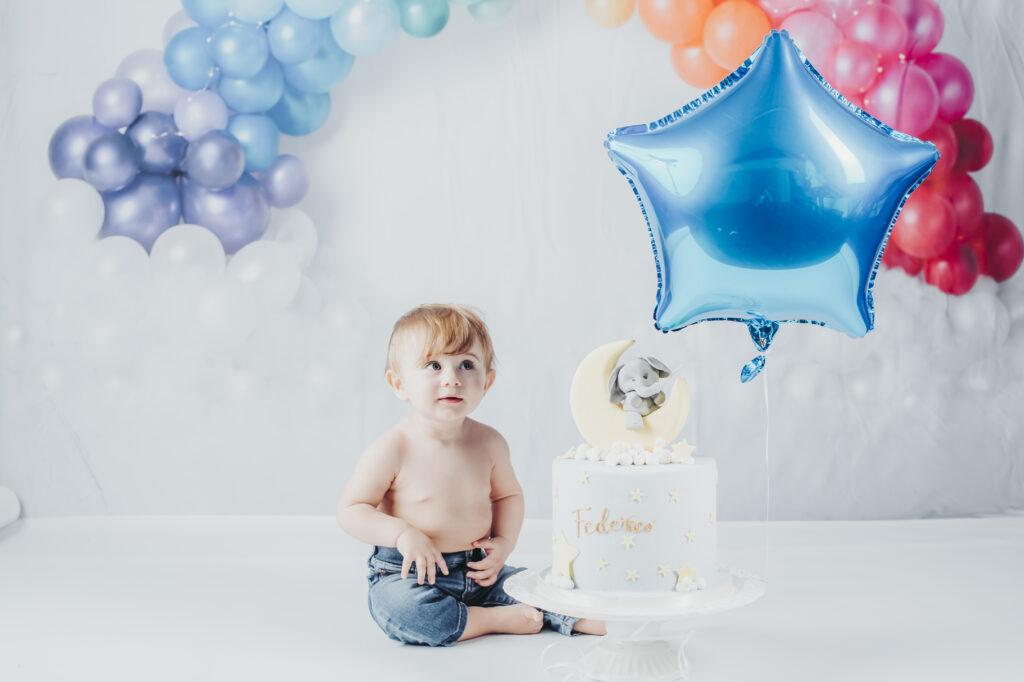 smash cake primo compleanno